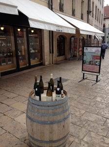 A typical street amenity in Beaune